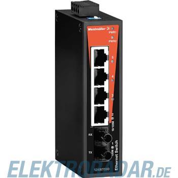 Weidmüller Netzwerk-Switch IE-SW-BL05-4TX-1SCS