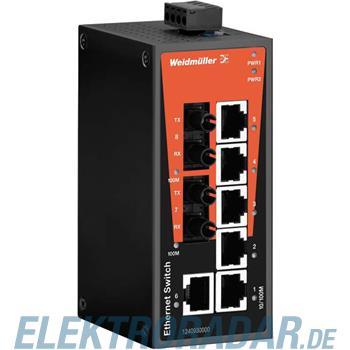 Weidmüller Netzwerk-Switch IE-SW-BL08-6TX-2ST
