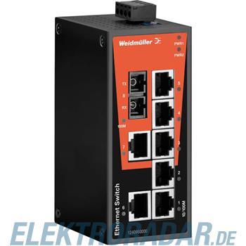 Weidmüller Netzwerk-Switch IE-SW-BL08-7TX-1SCS