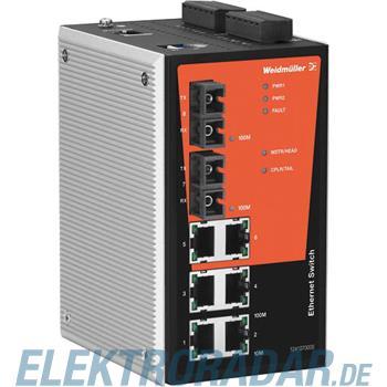 Weidmüller Netzwerk-Switch IE-SW-PL08M-6TX-2SC