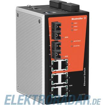 Weidmüller Netzwerk-Switch IE-SW-PL08M-6TX-2SCS