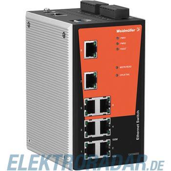 Weidmüller Netzwerk-Switch IE-SW-PL08M-8TX