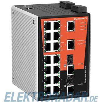 Weidmüller Netzwerk-Switch IE-SW-PL18M-2GC-16TX