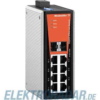 Weidmüller Netzwerk-Switch IE-SW-VL08-6GT-2GS
