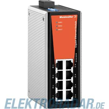 Weidmüller Netzwerk-Switch IE-SW-VL08-8GT
