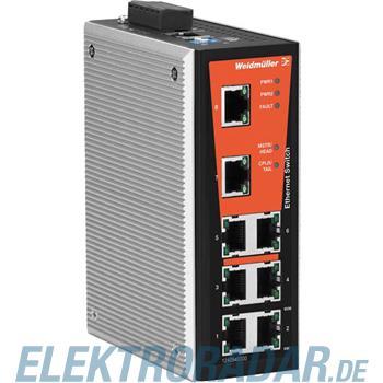 Weidmüller Netzwerk-Switch IE-SW-VL08MT-8TX