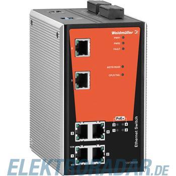 Weidmüller Netzwerk-Switch IE-SW-PL06M-2TX-4POE