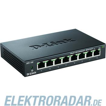 DLink Deutschland 8-Port Switch DES-108/E