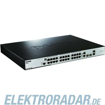 DLink Deutschland 28-Port Switch managed PoE DES-3200-28P