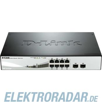 DLink Deutschland 8-Port PoE Gigabit Switch DGS-1210-08P