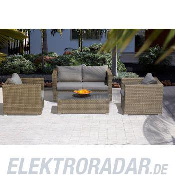 Gardissimo Geflecht Lounge Gruppe Rodrigo 4-teilig natur