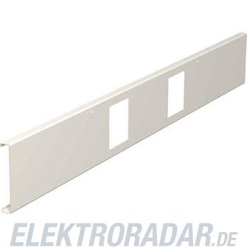 OBO Bettermann Geräteabdeckung IKR GS3/6 RAL9010(80)