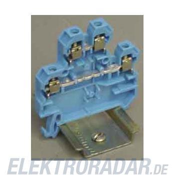 Weidmüller Doppelklemme DK 4Q/35 BL