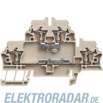Weidmüller Doppelklemme ZDK 2.5 EM