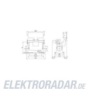 Weidmüller Steckverbinder-Gehäuse HDC 16A SLU 2M25G