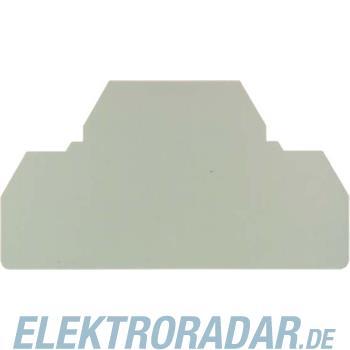 Weidmüller Abschlussplatte ZAP/TW4/4AN BL