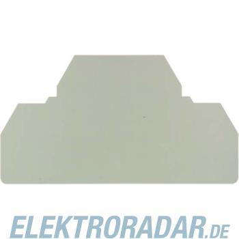 Weidmüller Abschlussplatte ZAP/TW6/3AN BL