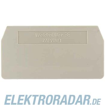Weidmüller Abschluss-/Zwischenplatte PAP 2.5/4/3AN