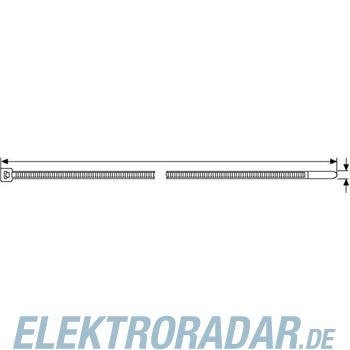 HellermannTyton Kabelbinder T30R-V0-WH-C1