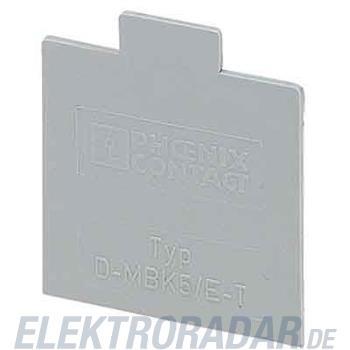Phoenix Contact Reihenklemmen-Abschlussdec D-MBK 5/E-T