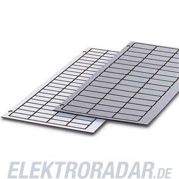 Phoenix Contact Kunststoff-Schilderplatte GPE 27X 8 WH/R