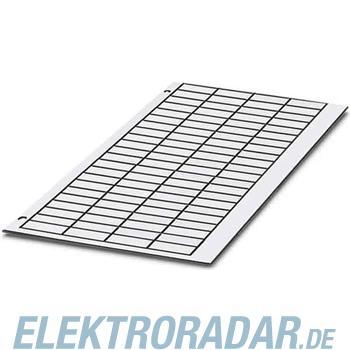 Phoenix Contact Kunststoffschilderplatte GPE 60X30 WH