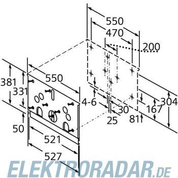 Siemens Absenkrahmen LZ 46000