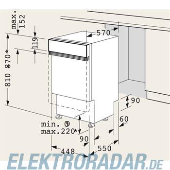 Siemens Montage-Set für 90cm LZ 49100