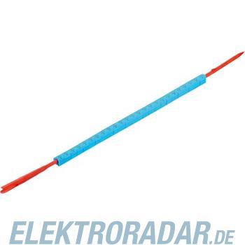 Weidmüller Leitermarkierer CLI R 02-3 BL/SW -