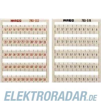 WAGO Kontakttechnik WMB-Bezeichnungssystem 793-555