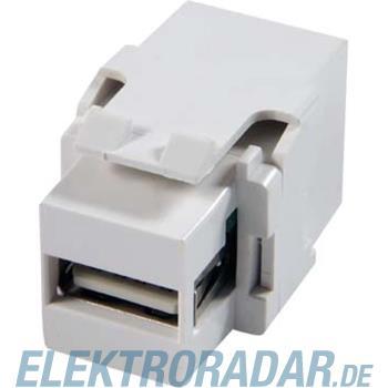 Telegärtner USB-Keystone f-f Typ A J00029A0086