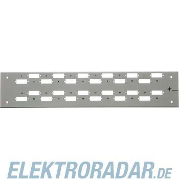 Telegärtner Frontplatte Basis-V 2HE H02025A0418
