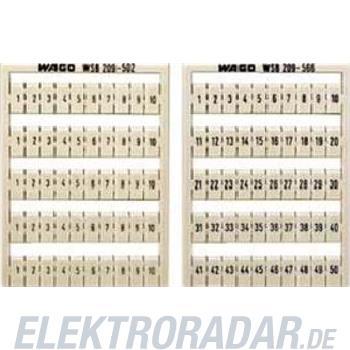 WAGO Kontakttechnik WSB-Bezeichnungssystem 209-601