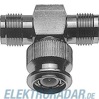 Telegärtner TNC-T-Stück (F-M-F) 50Ohm J01014A0000