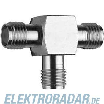 Telegärtner SMA-T-Stück (F-F-F) AU J01155A0011