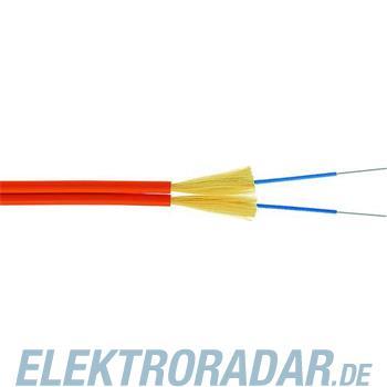 Telegärtner LWL-Duplexkabel 2x1G62/125 L08012A0004