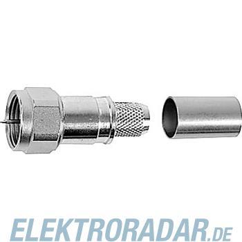 Telegärtner F-Kabelstecker, HDTV,Cr/Cr J01600A0008