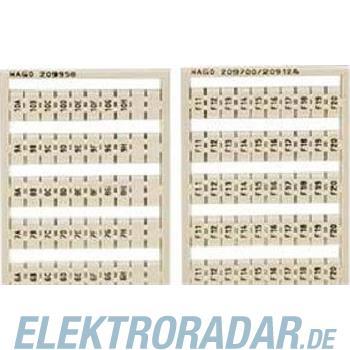 WAGO Kontakttechnik WSB-Bezeichnungssystem 209-995