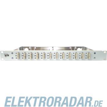 BTR Netcom 19Zoll Spleißgehäuse für OpDATfix12LC-DSM-EVZ