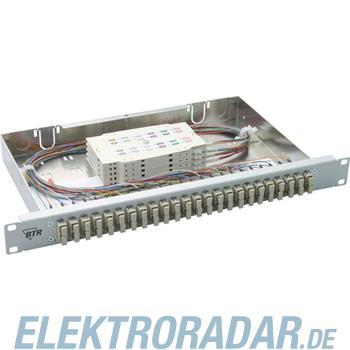 "BTR Netcom 19"" Spleißgehäuse 24SC-D OpDAT fix 24SC-D"