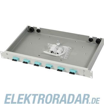 Telegärtner Spleißbox mit Kupplungen TNSB-Be-6SCD-OM3