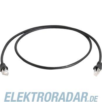 Telegärtner Patchkabel Cat7 0,25m sw L00000A0235