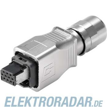 Weidmüller Stecker IE-PS-V14M-HYB-10P