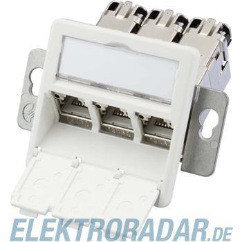 Telegärtner Modulaufnahme AMJ-S 3fach J00020A0512