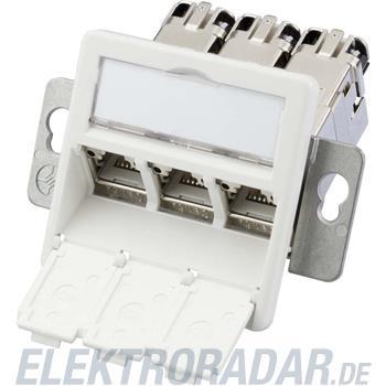 Telegärtner Modulaufnahme AMJ-S 3fach J00020A0513