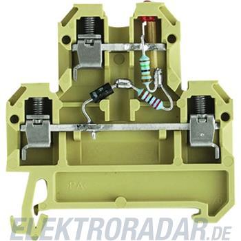 Weidmüller Durchgangsklemme DK 4/35LD1D ROT24VAC