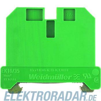 Weidmüller Schutzklemme EK 16/35/1ZB BK