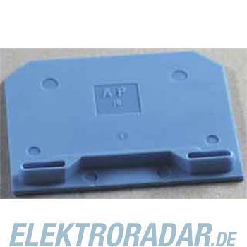 Weidmüller Abschlußplatte AP SAK16 BL