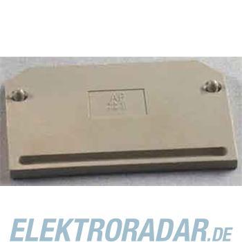 Weidmüller Abschlußplatte AP SAKS1+3 KRG/DB