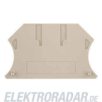 Weidmüller Abschlussplatte ZAP/TW ZDLD2.5-2N BL